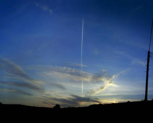 08-05-02 - Aeroplane sunset by Only-truth