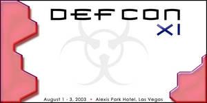 Defcon 11 Red Blocks