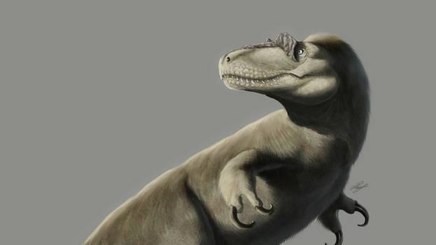 Dryptosaurus painting