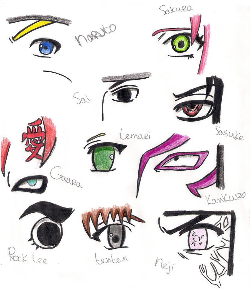 Naruto Eyes 1 By ShetXHorse