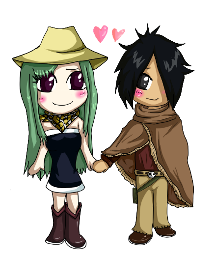 Alzack and Bisca chibis! (+Speedpaint!) by BelugaLu on ...  Alzack and Bisc...
