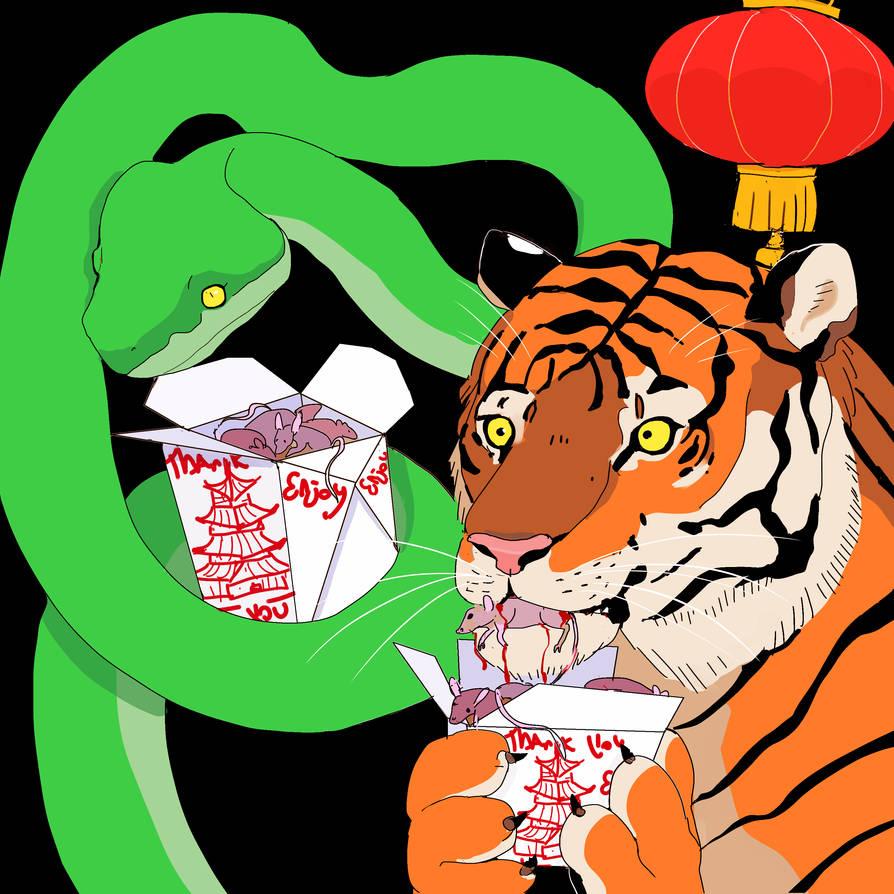 Chinese Takeaway.