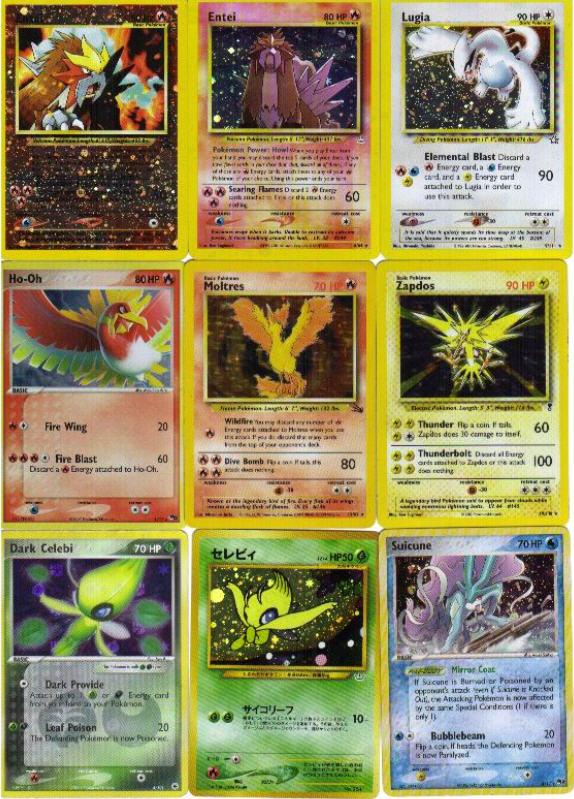 Legendary Pokemon Cards 1 By Minimangaartist On Deviantart