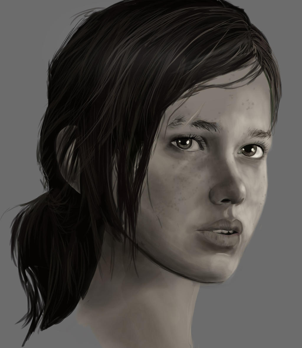 Ellie Face by TheThrillKillKult