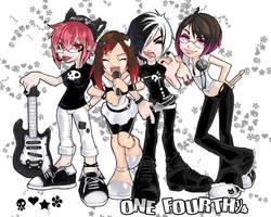 ONE FOURTH reireicollab by tsu