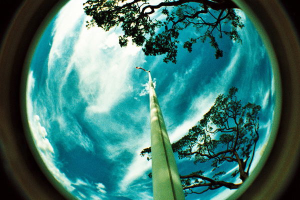 fisheye - the flag will rise by jcgepte