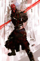 Darth Maul by iartbilly