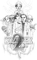 Stranger Things 2 by iartbilly