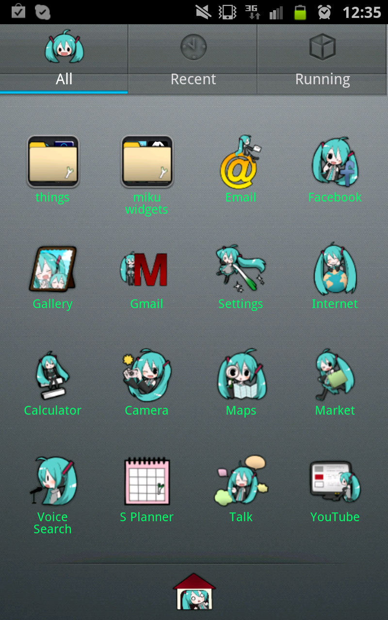 Gmail mobile theme -  Alexphantomhive Mobile Theme For Samsung Galaxy Note Menu By Alexphantomhive