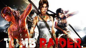 LARA CROFT Tomb Rider Wallpaper