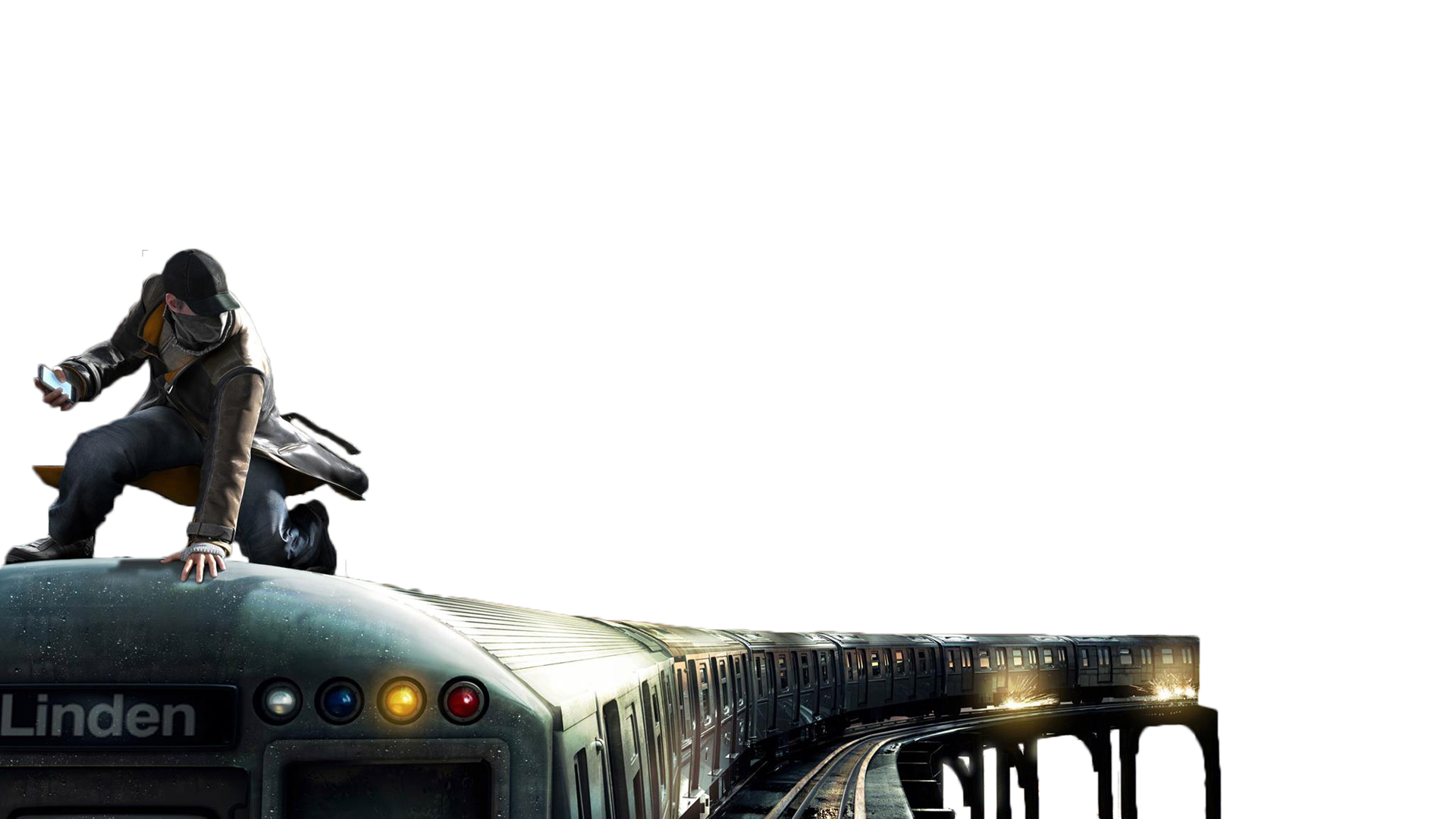 Watch Dogs On the train by RajivCR7