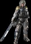 Metal Gear Rising- Revengence (Raiden) Render