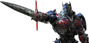 TF 4 Age Of Extinction Optimus Prime Render by RajivCR7