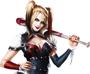 Batman Arkham Knight- Harley Quinn Render-1 by RajivCR7