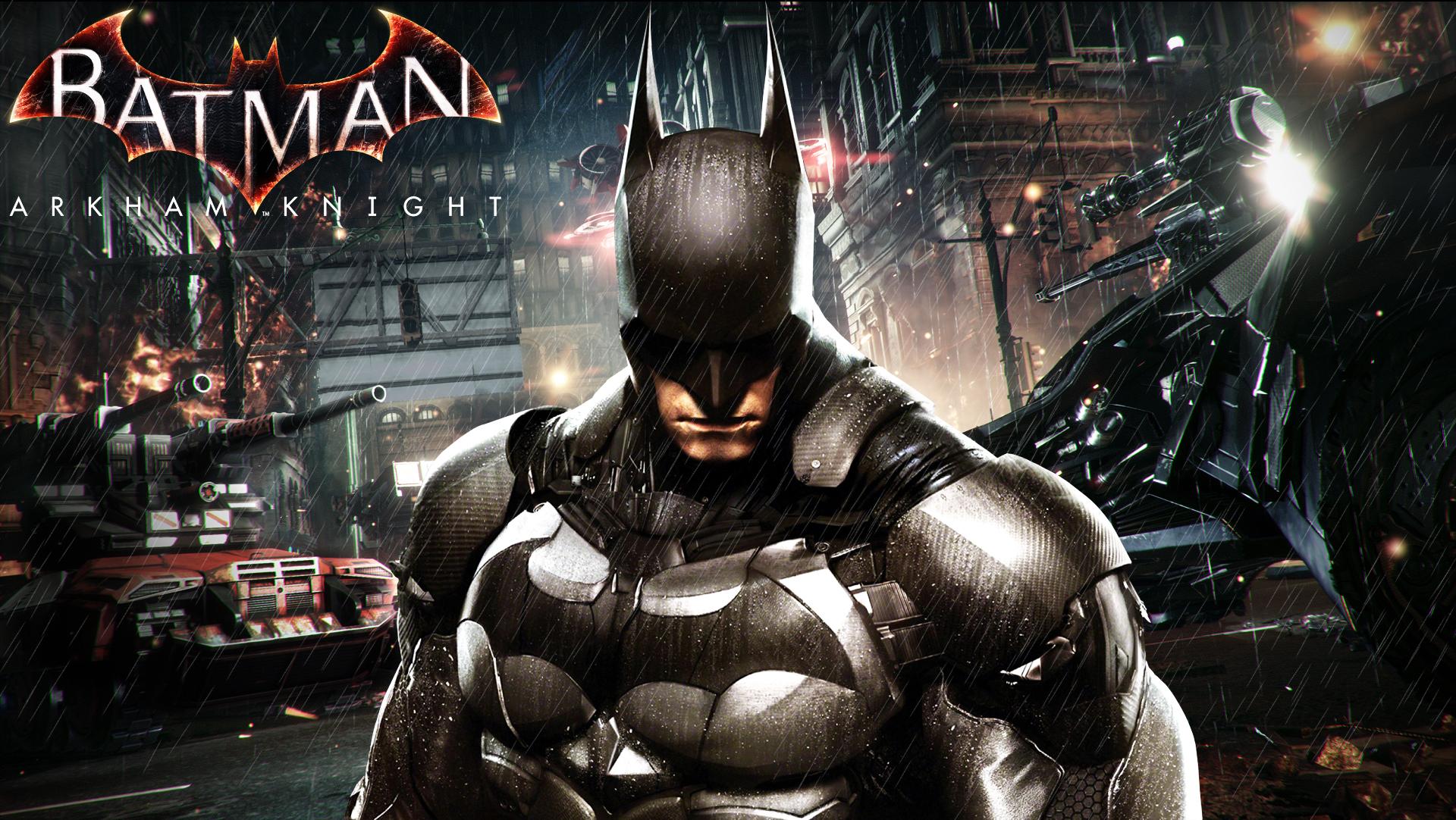 Batman Arkham Knight Hd Wallpaper 1 By Rajivcr7 On Deviantart