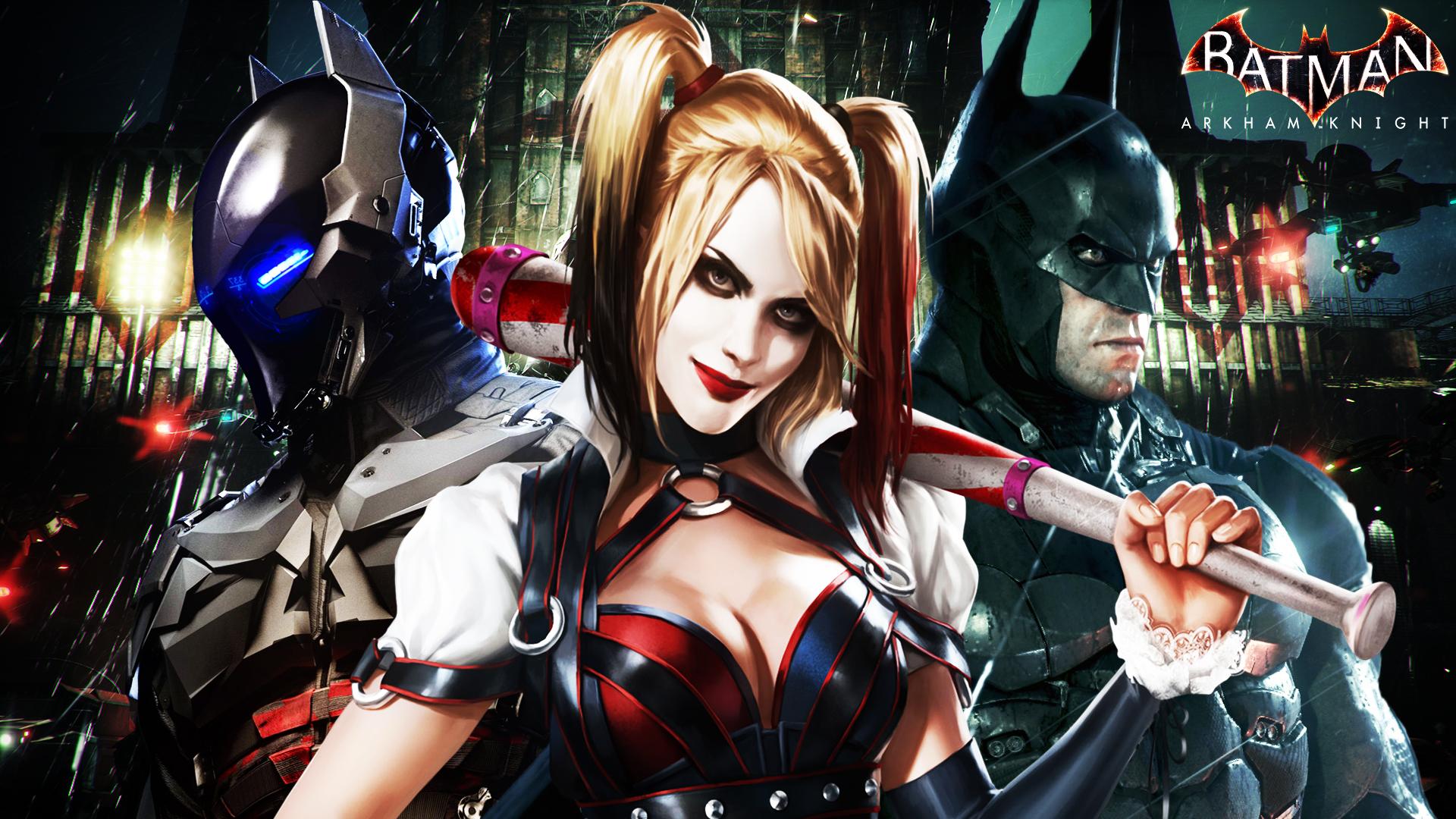 Batman Arkham Knight Hd Wallpaper 2 By Rajivcr7 On Deviantart