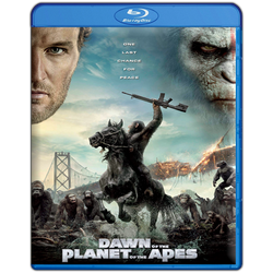 Dawn Of The Planet Of The Apes BR Cover