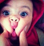 Cute baby with Cute Expression