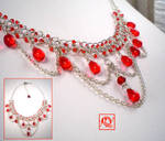 Red Drops Necklace