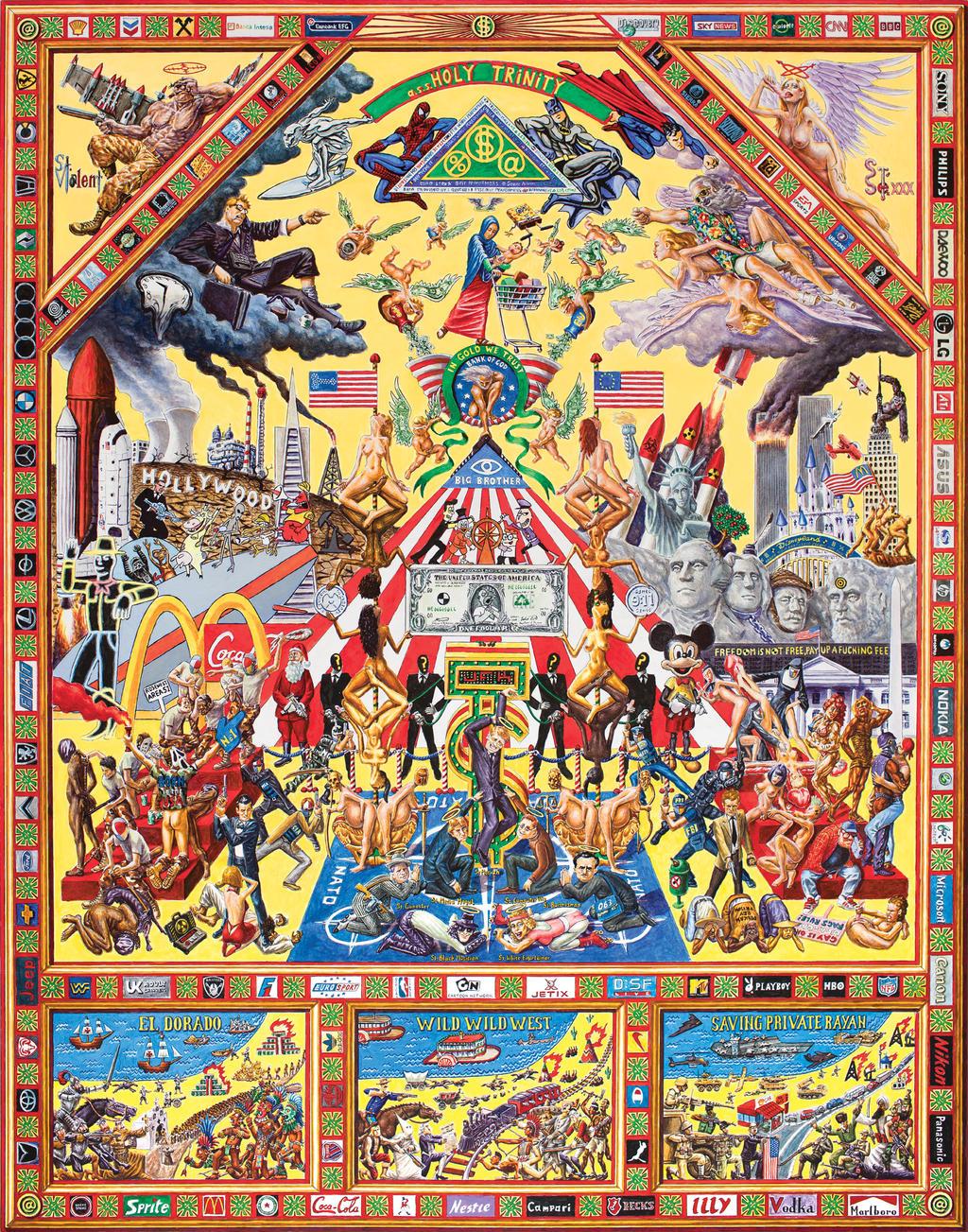 Iconostasis of Capitalism by alexander982