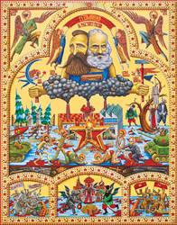 Iconostasis of Communism by alexander982