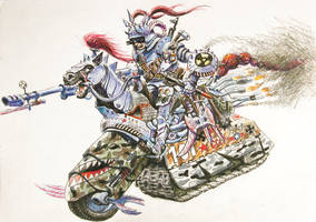 Four riders of the Apocalypse- War