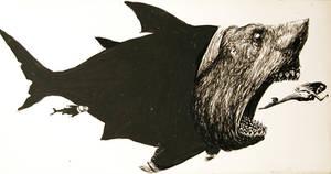 The political zoo- shark by alexander982