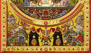 Iconostasis of Serbocommunism- detail