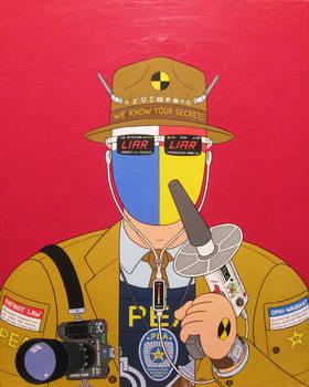 Watchman- acrylic on canvas 2014