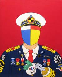 Conquering hero- acrylic on canvas 2014
