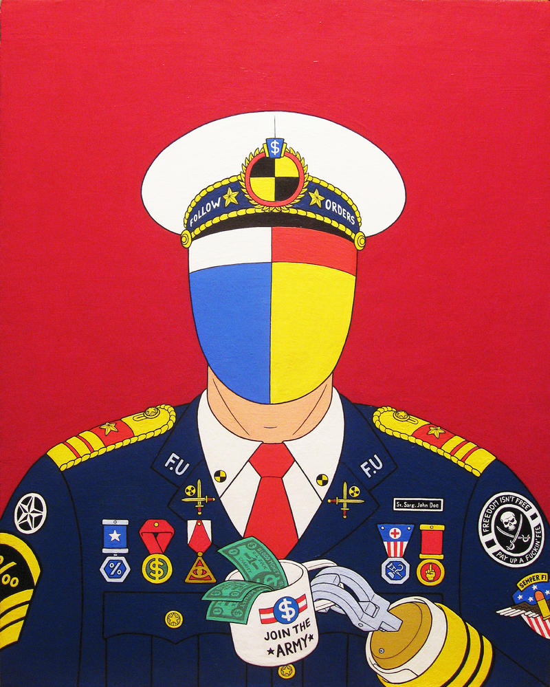 Conquering hero- acrylic on canvas 2014 by alexander982