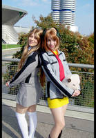 Maora and Haine - friends by chiisaiSaku