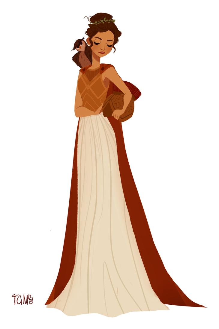 Athena by TheGingerMenace123