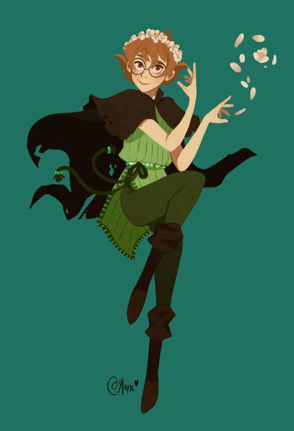 Witch! AU Pidge by TheGingerMenace123