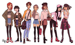 Fem!BTS by TheGingerMenace123