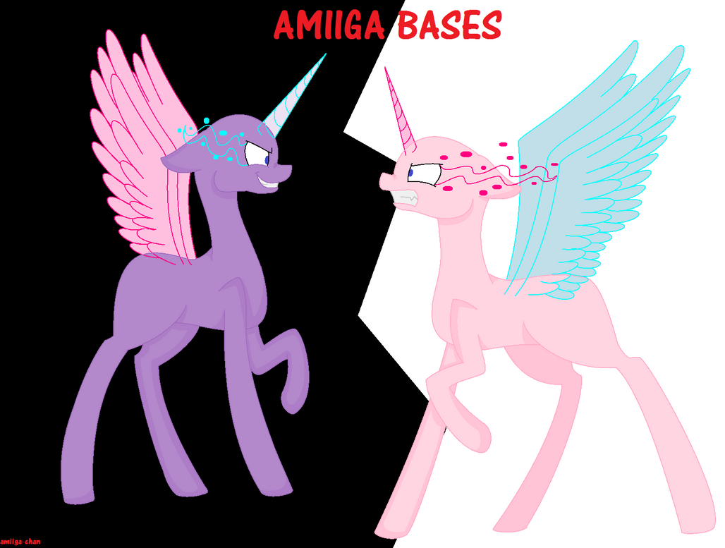 MLP Drawed Base #1 'Fight The Insanity' By AmiigaBases On
