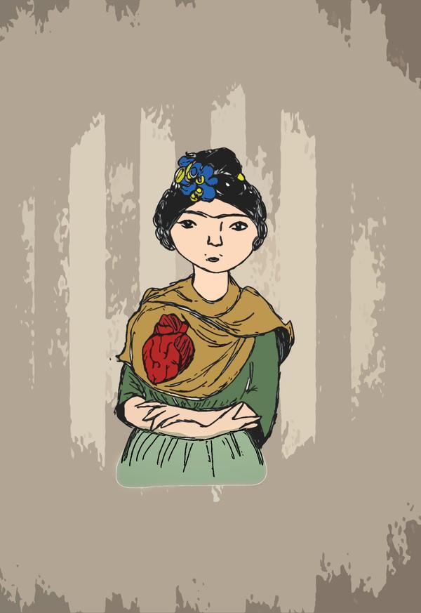 Frida Kahlo by Daffnet