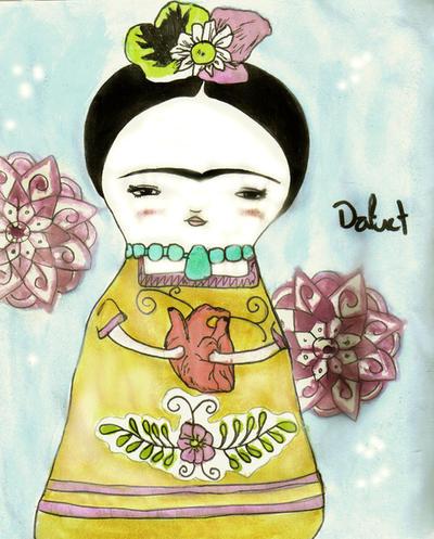 Friducha Kahlo by Daffnet