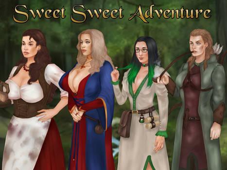 Sweet Sweet Adventure, release