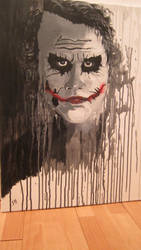 The Joker--Heath Ledger--finished work