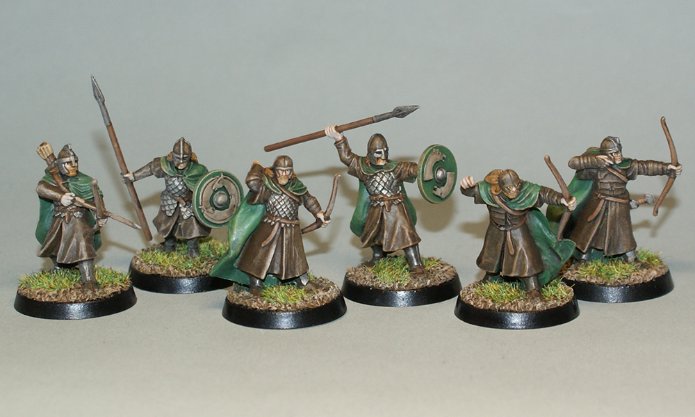 Warriors of Rohan by Necro1989