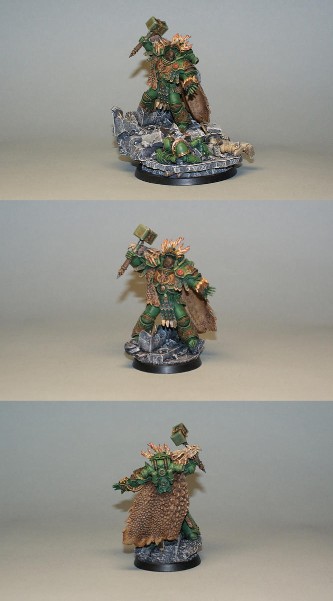 Vulkan He'Stan, Forgefather of the Salamanders by Necro1989