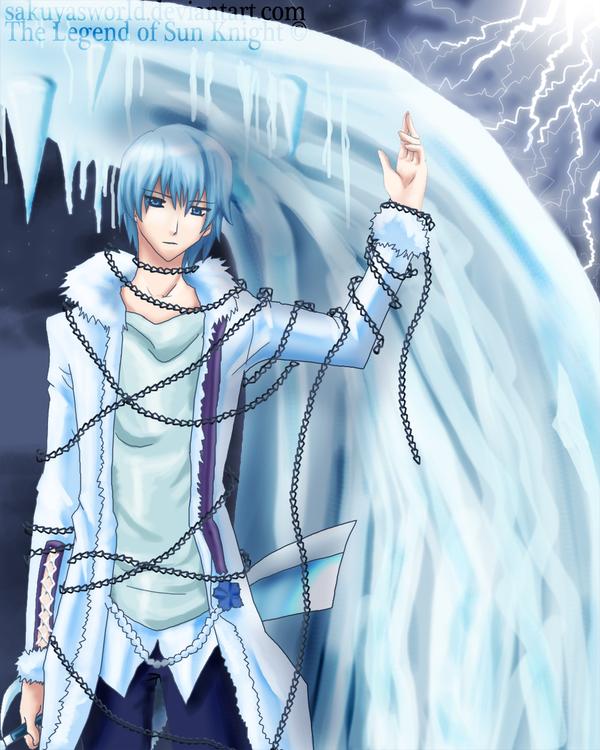 The Ice Knight by sakuyasworld