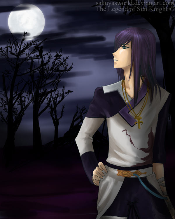 The Moon Knight by sakuyasworld