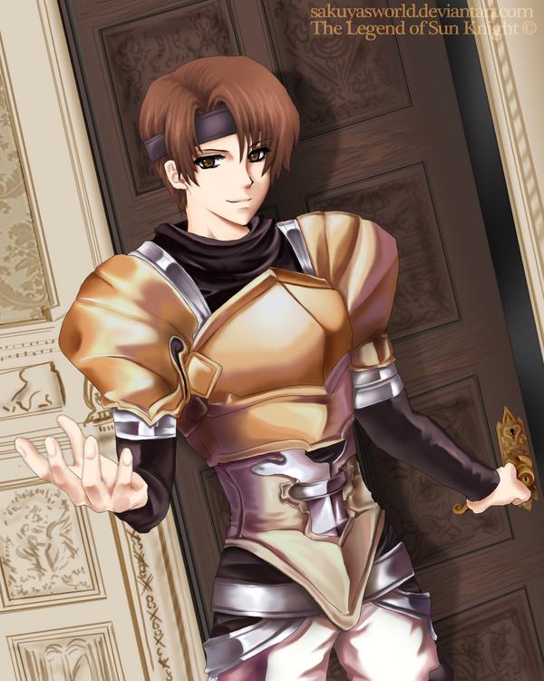 The Earth Knight by sakuyasworld