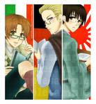 Hetalia: Axis bookmarks