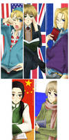 Hetalia: Allies bookmarks