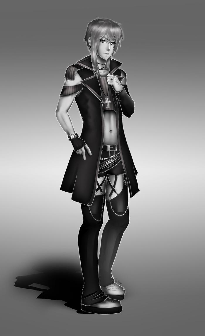 Commission: Jun by sakuyasworld