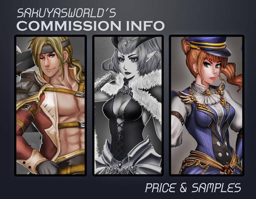 Commission-sample by sakuyasworld