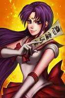 Sailor Mars Rei Hino by sakuyasworld